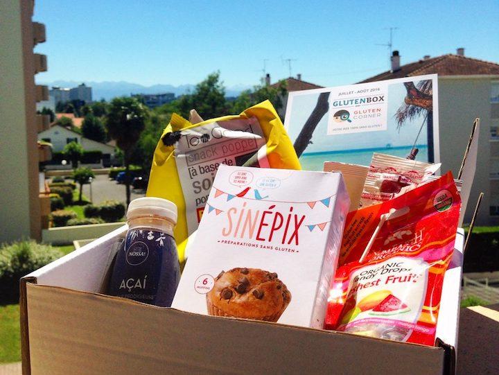 Summerbox sans gluten