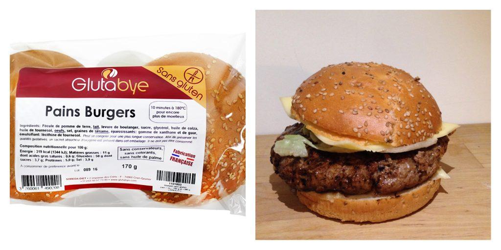 Burgers sans gluten