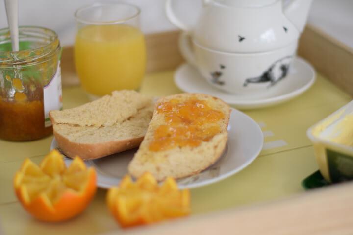 petit-déjeuner sans gluten