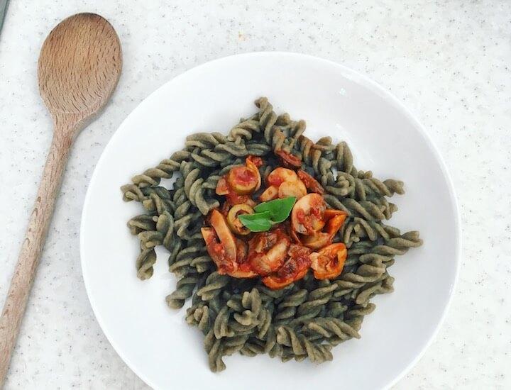 pâtes de légumes sans gluten