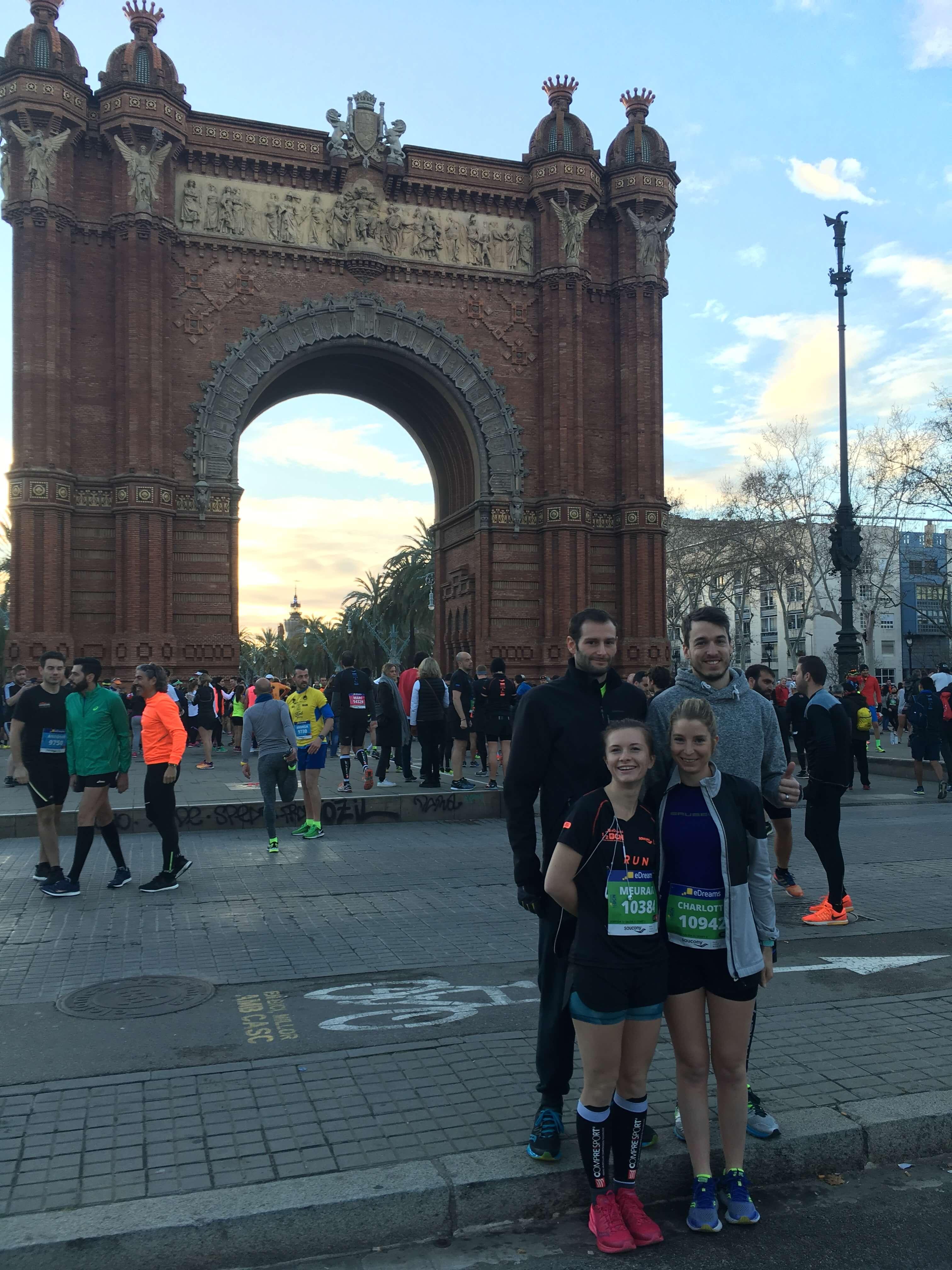 semi marathon de Barcelone
