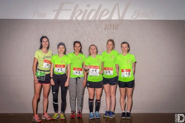 marathon relais entre filles