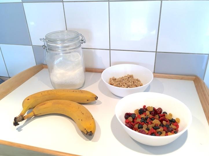 ingredients barre de cereales