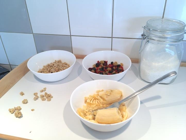 barres de céréales sans gluten