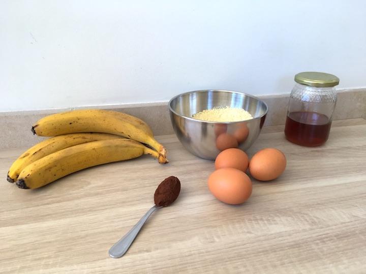 Recette : Banana Bread marbré sans gluten