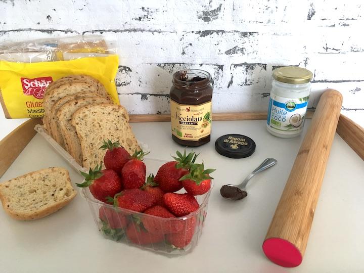 Roulés sucrés sans GLO : Gluten Lactose Oeuf