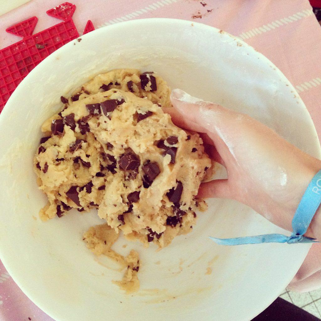 pate à cookies
