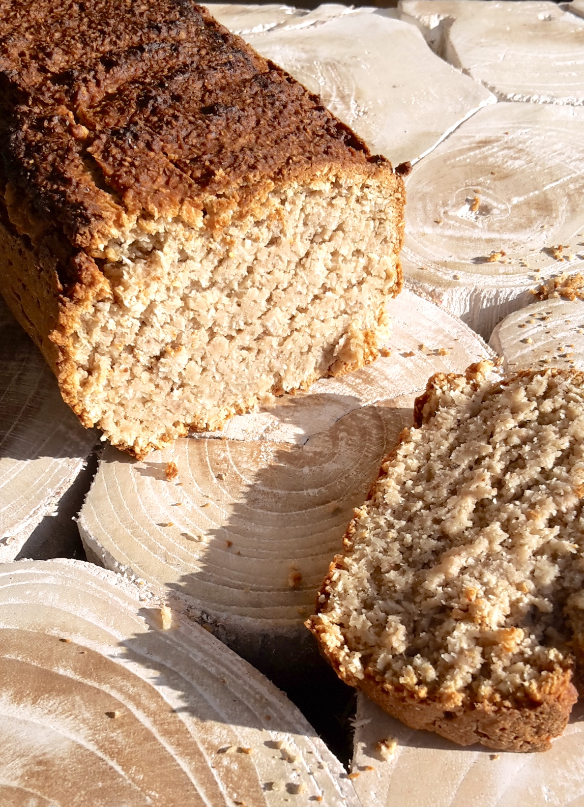 Coconut Bread sans gluten lactose oeuf