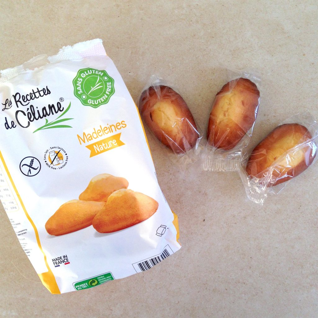 Madeleines sans gluten : le test