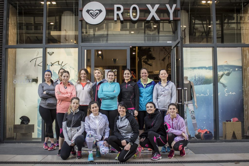 Run & Fitness avec Roxy