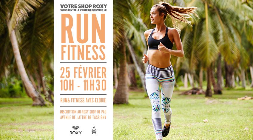 Roxy Run & Fitness Affiche