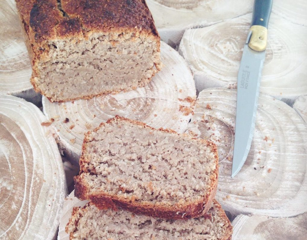 Coconut Bread Sans gluten