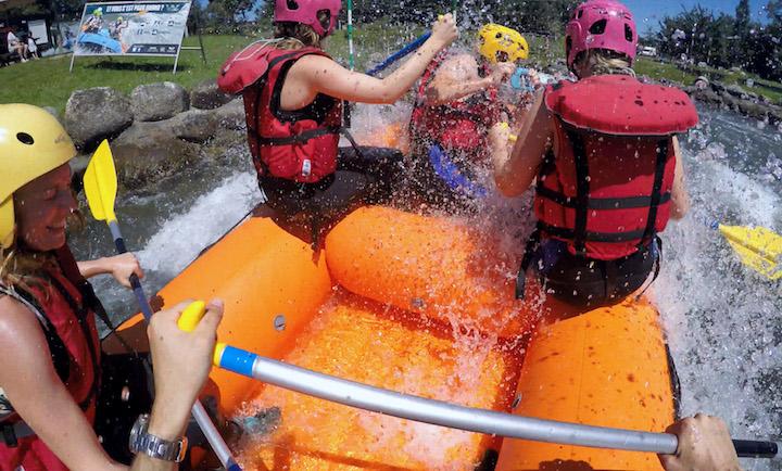 descente rafting pau