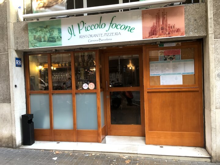 Barcelone sans gluten : pizzeria sans gluten barcelone