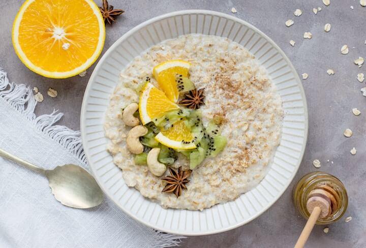 porridge courgette