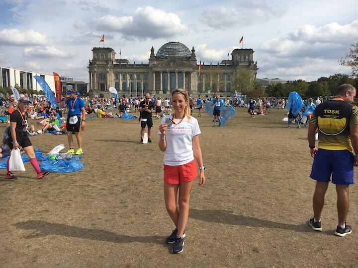2eme fois marathonienne à Berlin