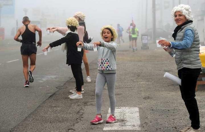semi marathon ravito