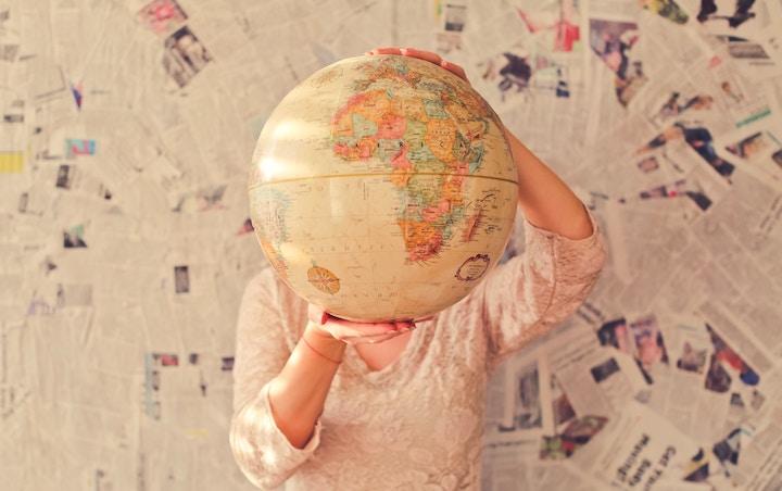 courir à l'étranger