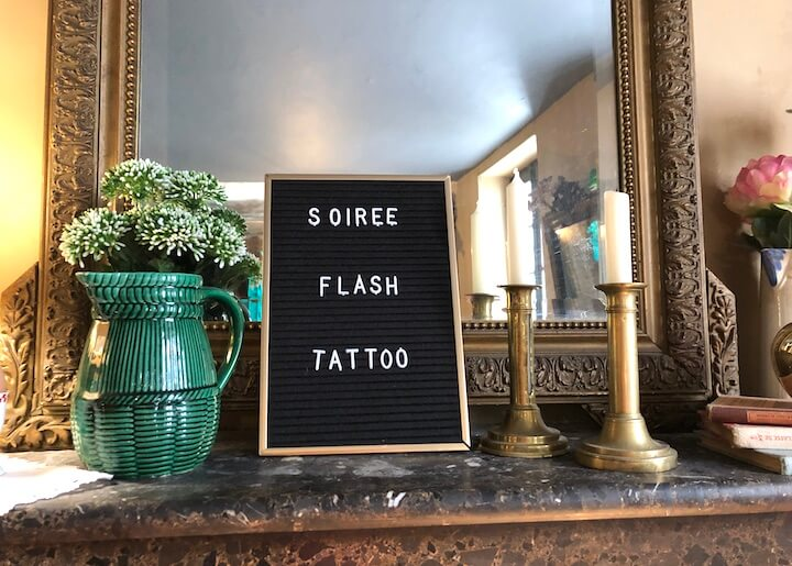 L'union fait la force - soirée flash tattoo