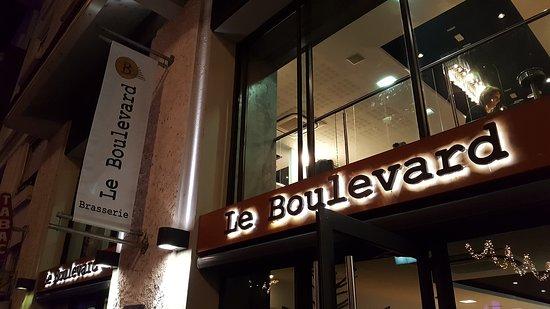 restaurant le boulevard