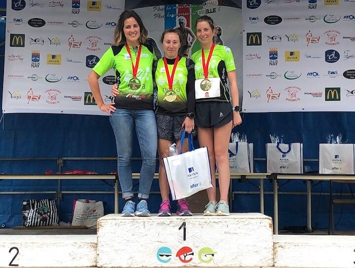 podium triathlon