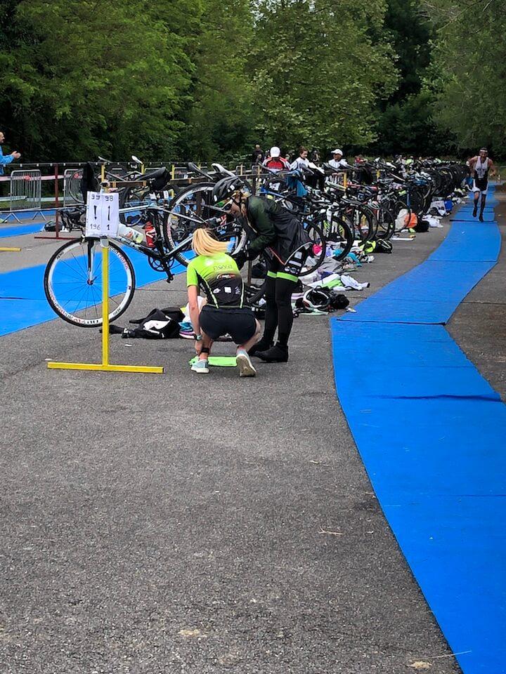 triathlon en relais