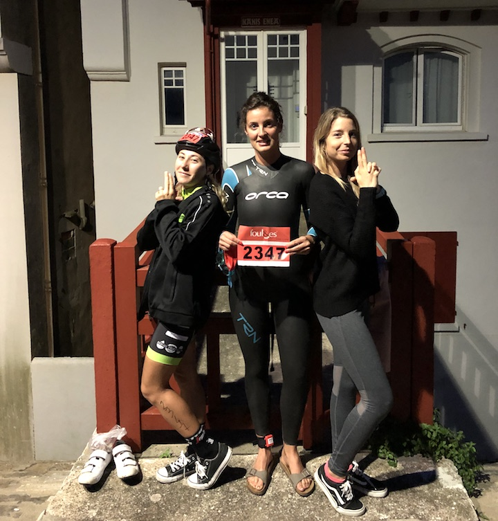 Triathlon de st Jean vélo chocolateam