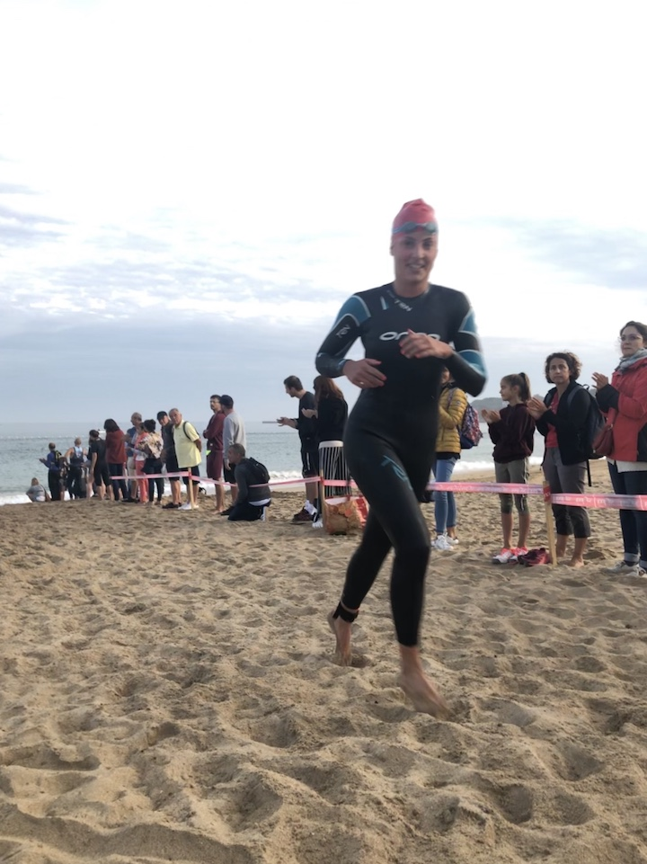 Triathlon de st Jean natation