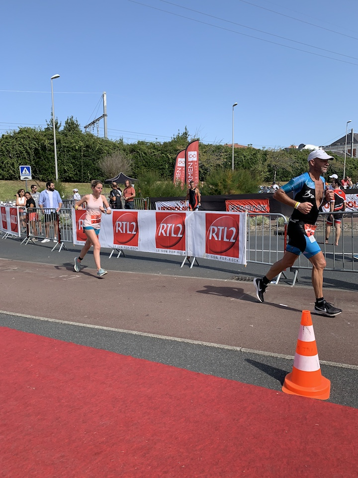 Triathlon de st Jean course