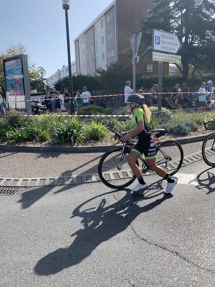 Triathlon de st Jean vélo