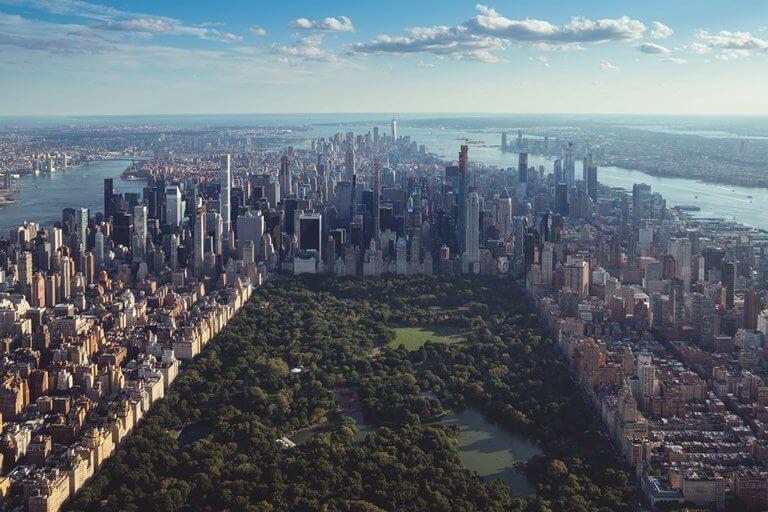 pas de rp à new-york central park