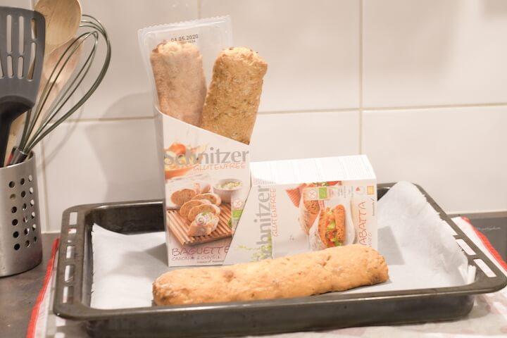 pain sans gluten schnitzer