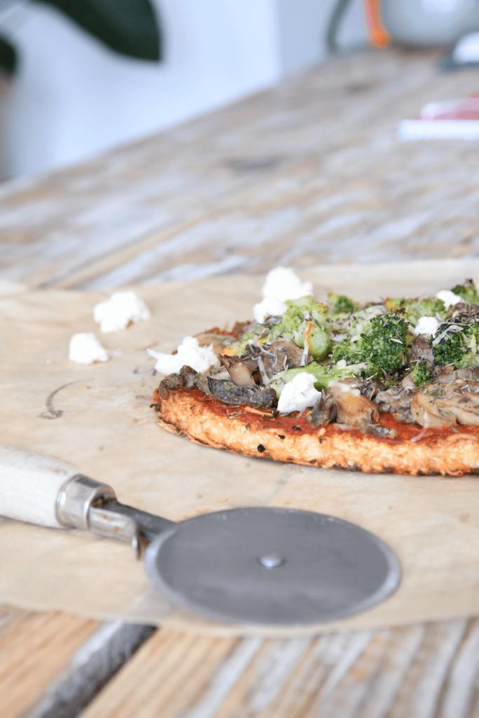 pizza chou fleur zoom