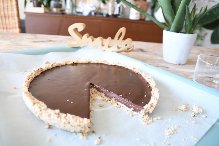 Recette tarte au chocolat sans gluten