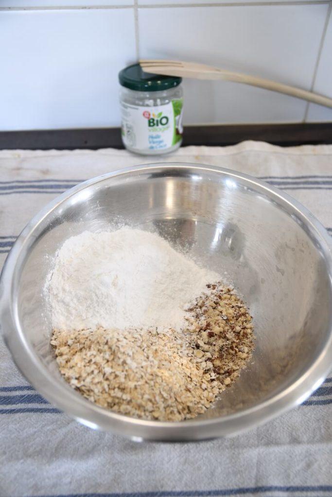 mélange sec tarte