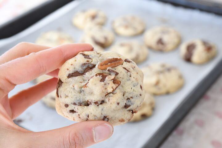 cookies sirop d'érable noix de pécan