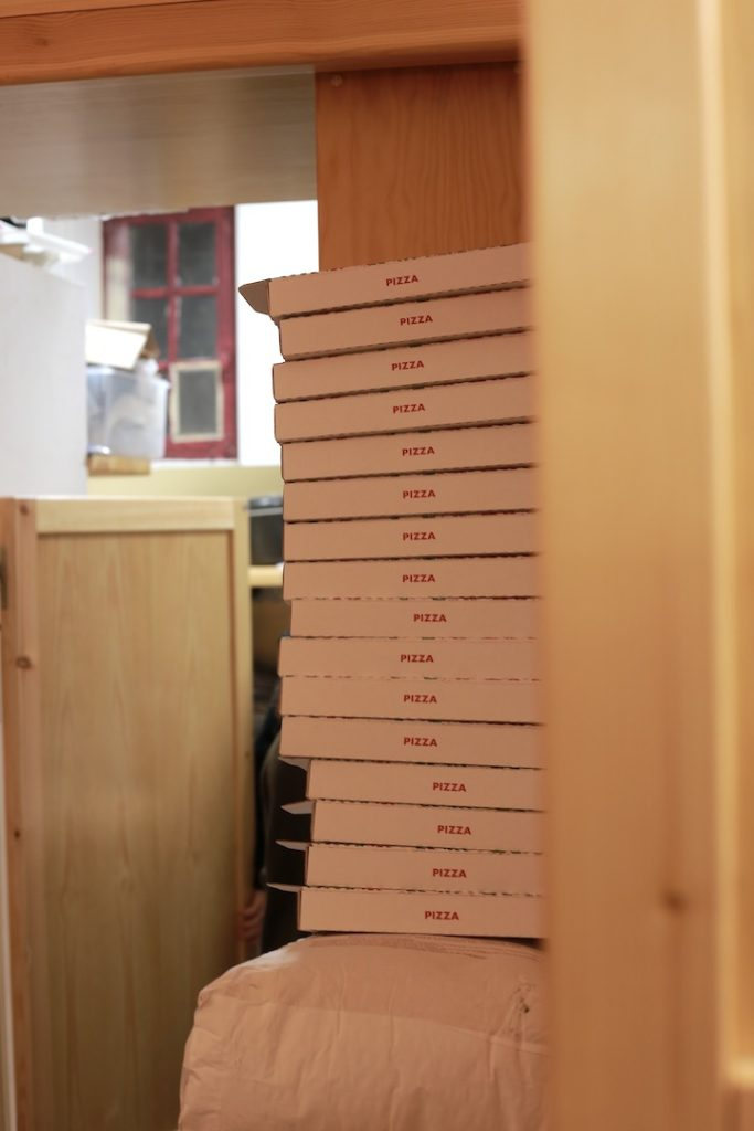 pizzeria sans gluten carton