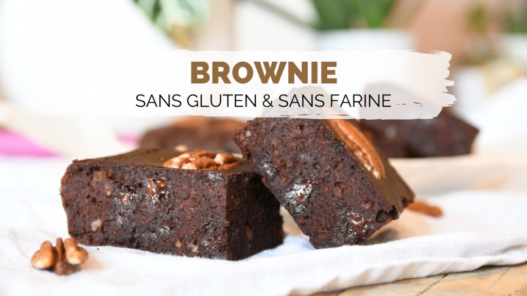 brownie sans gluten chaine youtube