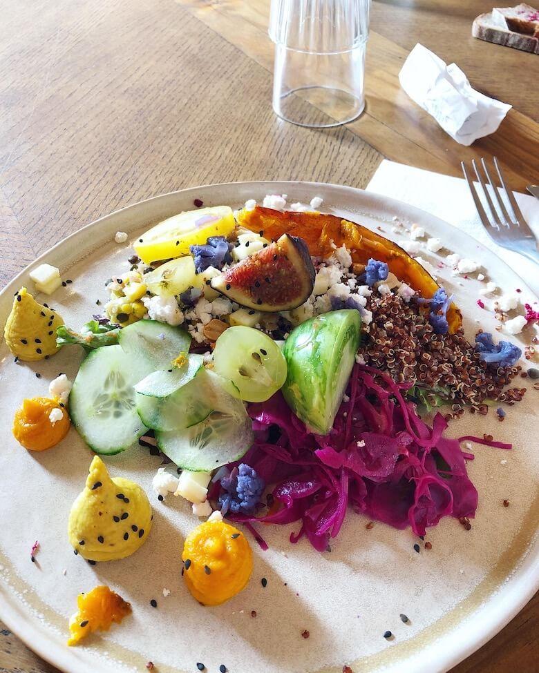 assiette coloré spot palace sans gluten