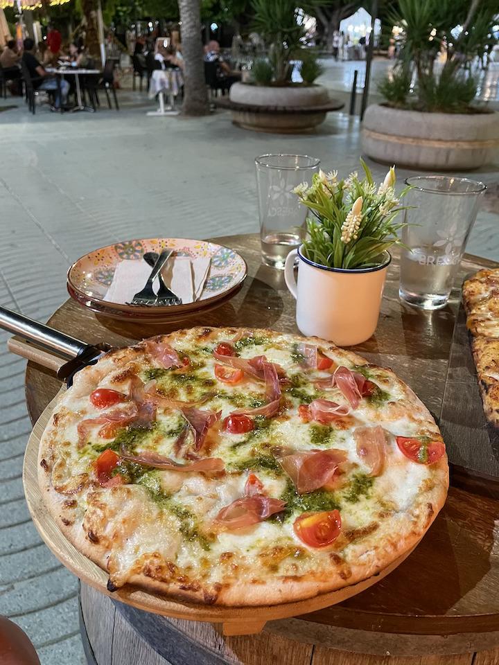 pizza sans gluten ibiza bresca