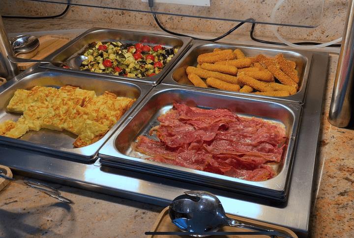 hotel orosol breakfast